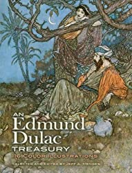 An Edmund Dulac Treasury: 116 Color Illustrations (Dover Books on Fine Art)