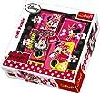 Trefl - 34119 - Puzzle 4 en 1 Minnie -  35-48-54-70 Pi�ces
