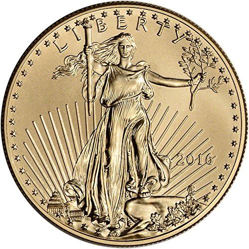2016 American Gold Eagle 50 Brilliant Uncirculated U S Mint