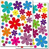 Wandkings Blumen Design 3 Wandsticker Set