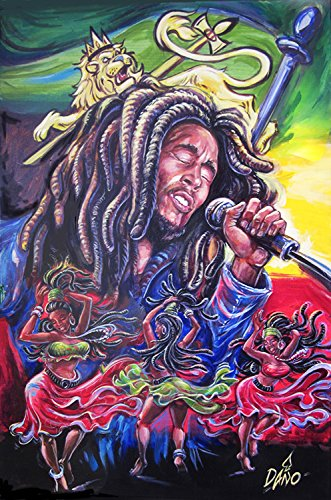 Three Little Birds (Bob Marley Painting compare prices)