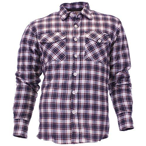 Tokyo Wäsche Herren Hemd Flanell, Baumwolle bedruckt