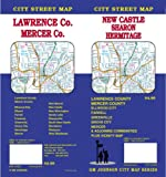 New-Castle---Sharon---Hermitage---Lawrence--Mercer-Counties-PA-Street-Map