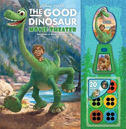 Disney Pixar the Good Dinosaur Movie Theater Storybook & Movie Projector