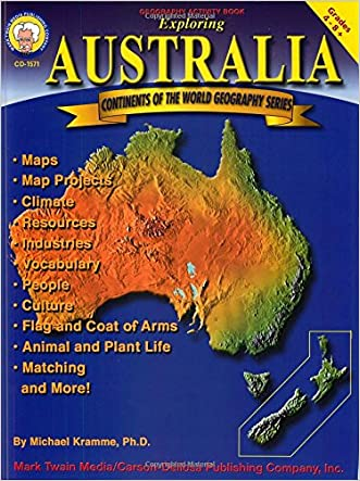 Exploring Australia, Grades 4 - 8 (Continents of the World)