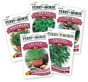 Ferry Morse My Favorite Herb Garden (Herb Varieties May Vary)