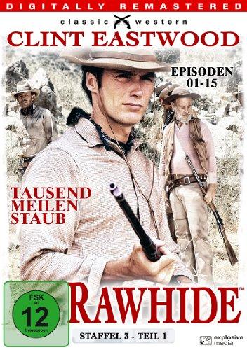 Rawhide - Tausend Meilen Staub, Staffel 3, Teil 1 [4 DVDs]