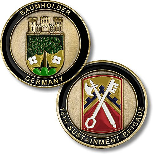 United States Army -- Baumholder, Germany -- 16th Sustainment Brigade Challenge Coin