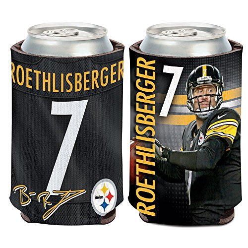 Pittsburgh Steelers Ben Roethlisberger 12oz Can Cooler ... by Wincraft