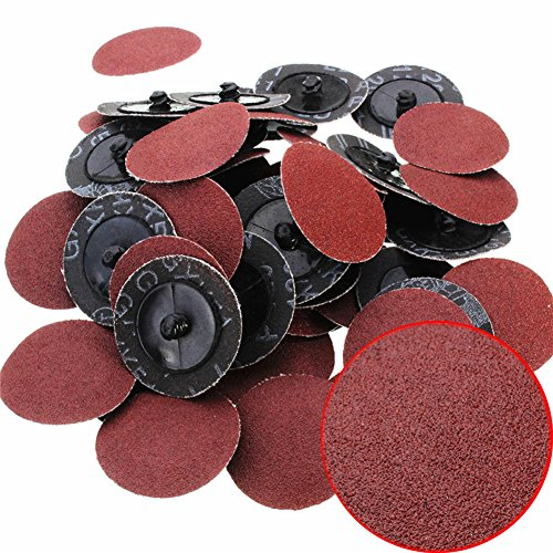 saysure-50-pcs-2-inch-roloc-r-type-roll-lock-sanding-abrasive-disc