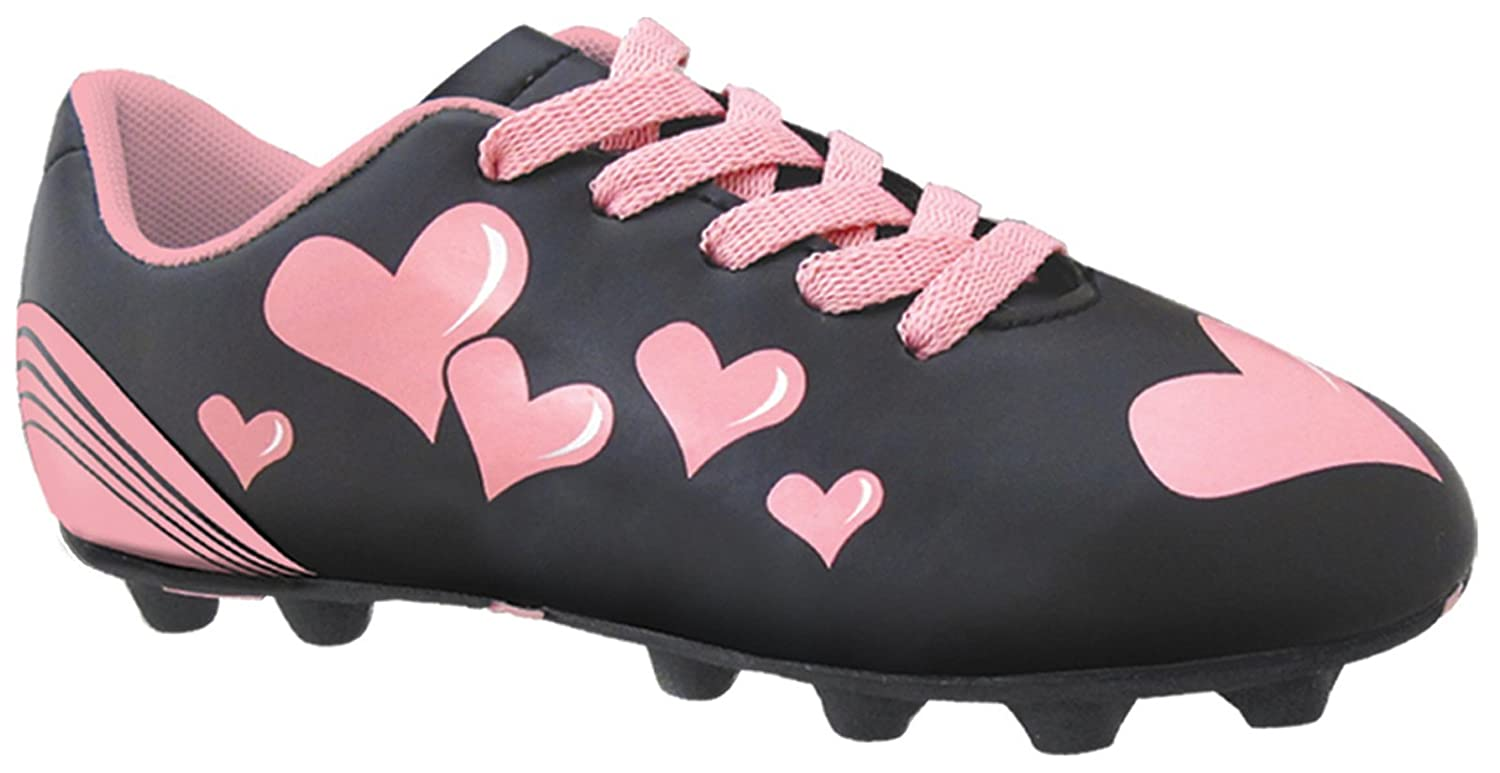 Trax Girls Hearts MD Junior Soccer Cleat