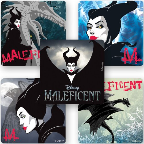 Maleficent Movie Stickers - 75 Per Pack