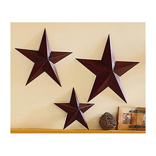 Country Star Primitive Wall Trio