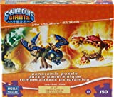 Skylanders Giants 150 Piece Panoramic Jigsaw Puzzle - Drobot and Eruptor
