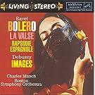 Bol�ro / La Valse / Images pour orchestre