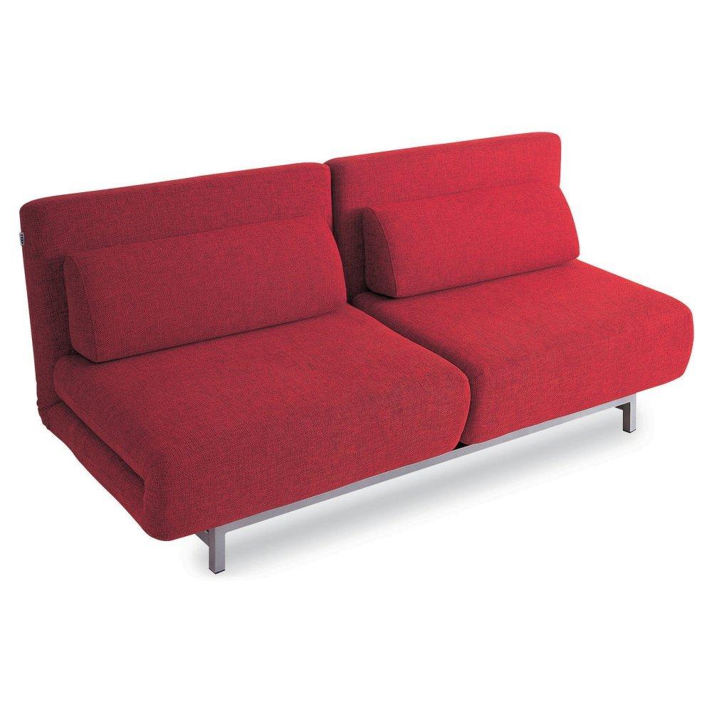 Red Folding Sofabed - Modern Design