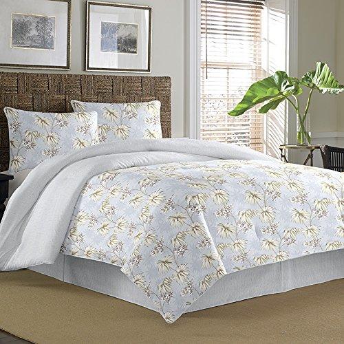 Tommy Bahama Newport Silver Blue Comforter Set, King front-788421