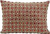 Kathy Ireland Worldwide Decorative Pillow By Nourison, Ruby, 10