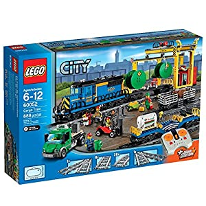 LEGO City Trains Cargo Train 60052 Building Toy from LEGO City Trains