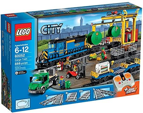 LEGO City Trains Cargo Train Building Toy