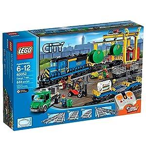 Amazon.com: LEGO City Trains Cargo Train 60052 Building