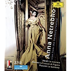Anna Netrebko: Live From the Salzburg Festival [Blu-ray]