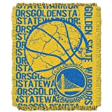 NBA Golden State Warriors 48 x 60-Inch Double Play Jacquard Triple Woven Throw at Amazon.com