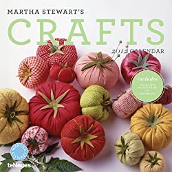2012 Martha Stewart's Crafts Wall Calendar (English, German, French, Italian, Spanish and Dutch Edition)