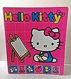 Hello Kitty Hot Pink 3 Ring Binder