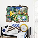 Zooarts-Cartoon-Animals-Pet-Bird-Sanda-Genius-extrable-pegatinas-de-pared-Art-Decor-Calcomanas-de-vinilo-Nios-Mural-de-Habitacin