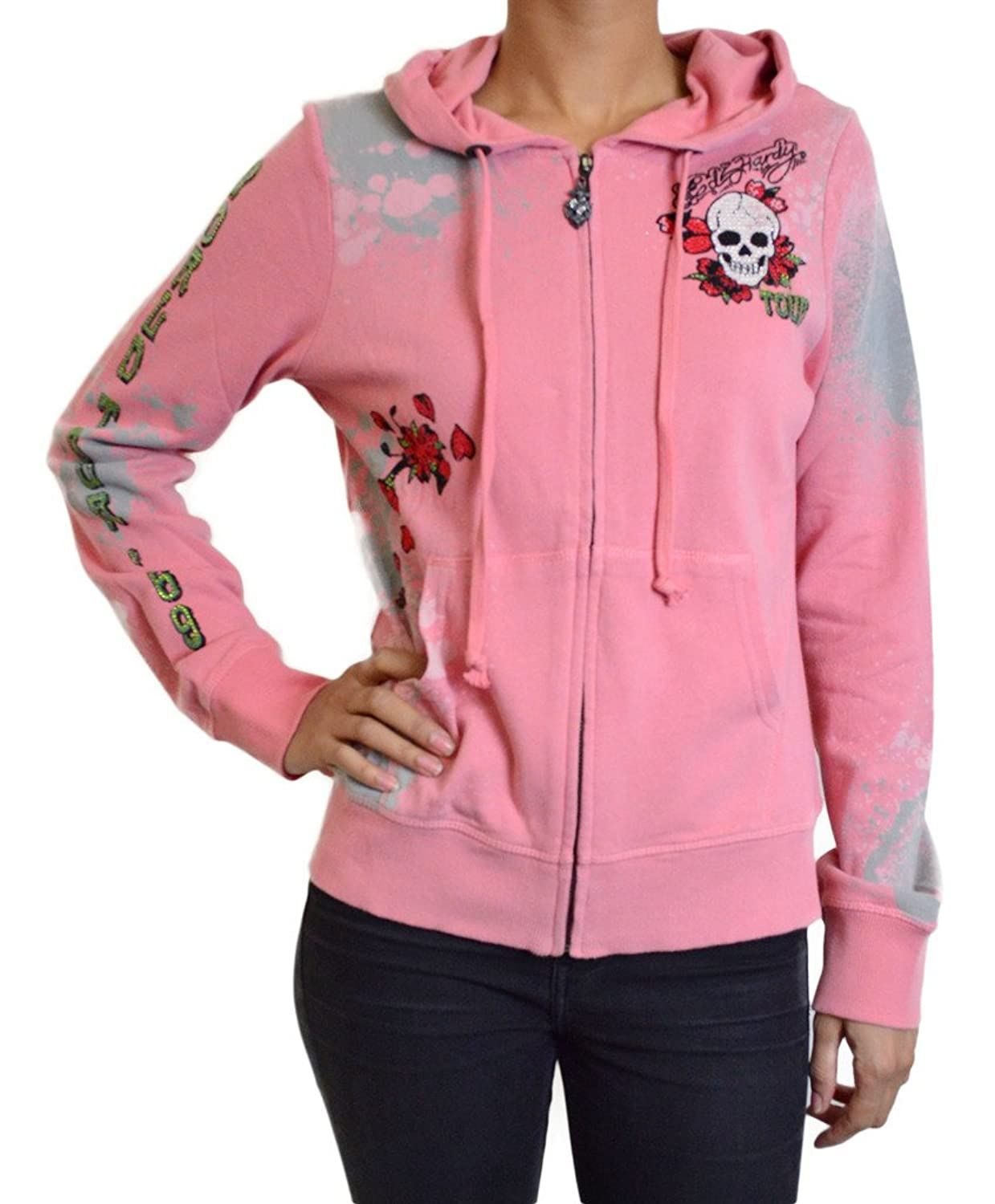 Ed Hardy Christian Audigier Women's World Tour 1969 Hoodie pierre hardy платок