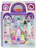 Melissa & Doug 19412 - Libro de actividades con autoadhesivos esponjosos día glamoroso