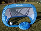 Two 6x4 Ft. Foldable Soccer Goals, Portable W/carry Case, Goal. 6' x 4' Each