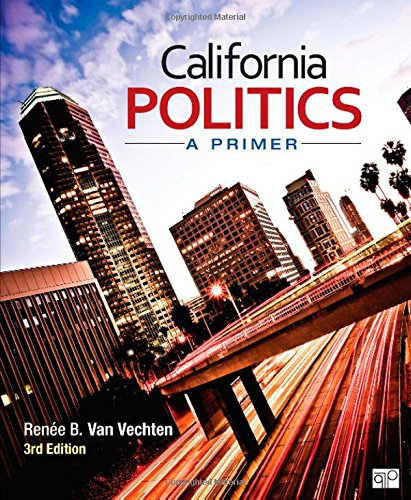 California Politics; A Primer back-17214