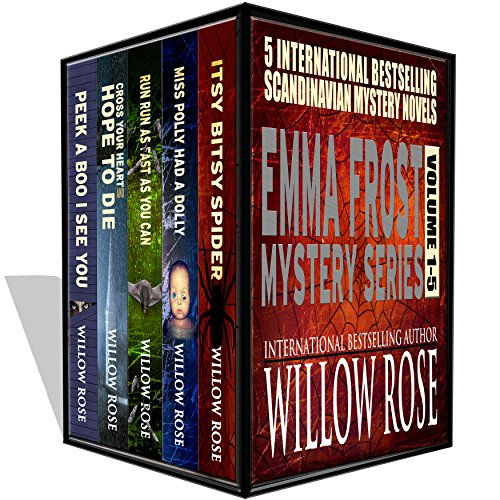 Kindle Countdown Deal! Get Emma Frost Mystery Series vol 1-5  by Willow Rose for only .99 cents! A great deal, along with today's Kindle Daily Deals!