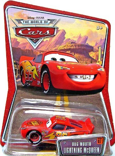 Disney Pixar Cars Bug Mouth Lightning McQueen 1:55 Die-cast Vehicle - 1
