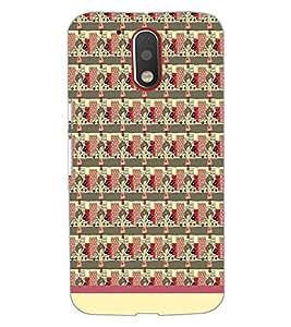 Printdhaba Pattern D-1548 Back Case Cover For Motorola Moto G4