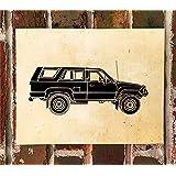 KillerBeeMoto Limited Print: Vintage Toyota 4Runner Hilux Surf Automobile Print