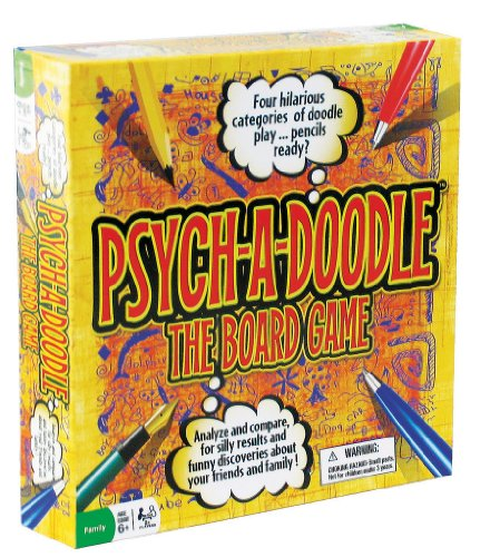 Psych-a-Doodle Board Game - 1