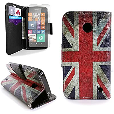 Nokia Lumia 635 Case Pouch and Clear Screen Protector CoverON® Protective Wallet Carrying Phone Cover for Nokia Lumia 635 by CoverON