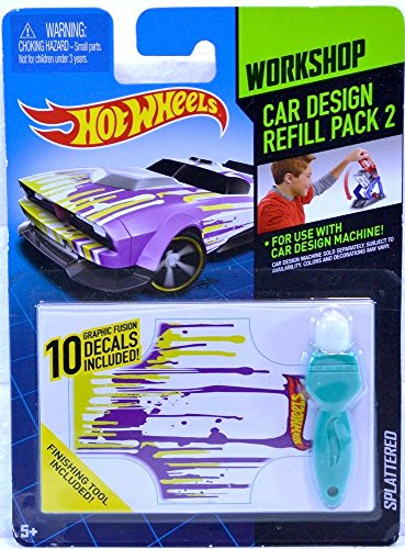 Hot Wheels Workshop Car Design Refill Pack 2