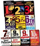 James Patterson Womens Murder Club Collection James Patterson 10 Books Set (10th Anniversary, 9th Judgement, 8th Confession, 7th Heaven, The 6th Target, The 5th Horseman, 4th of July, 3rd Degree, 2nd Chance, 1st to Die)
