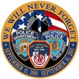 9/11 TRI DEPT 10TH ANNIVERSARY DECAL