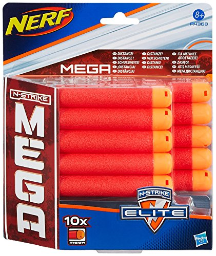 NERF N-Strike Elite Mega 10 Dart Refill Pack by Nerf