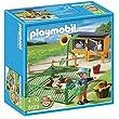Playmobil - 5123 - Jeu de construction - Enclos � lapins et enfant