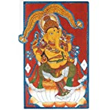 "Dolls Of India ""Lord Ganesha"" Reprint On Paper - Unframed (45.72 X 30.48 Centimeters)"