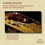 Twelve Trios for transverse flute, vi...