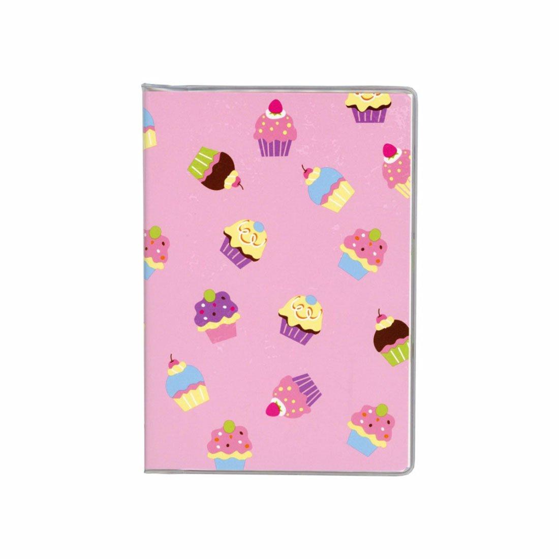 ダイゴー ドット手帐 ケーキ 粉红色 b3482