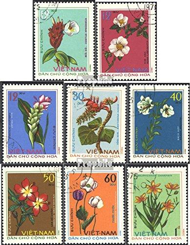 Vietnam 795-802 (kompl.Ausg.) gestempelt 1975 Heilpflanzen (Briefmarken für Sammler)