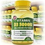 Vitamin D3 5000 iu - 360 Tablets - Pu...